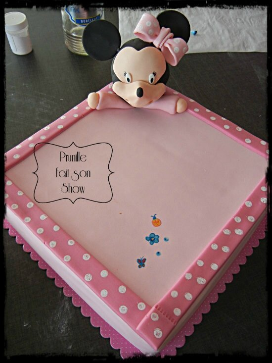 gateaux doudou minnie prunillefee 5