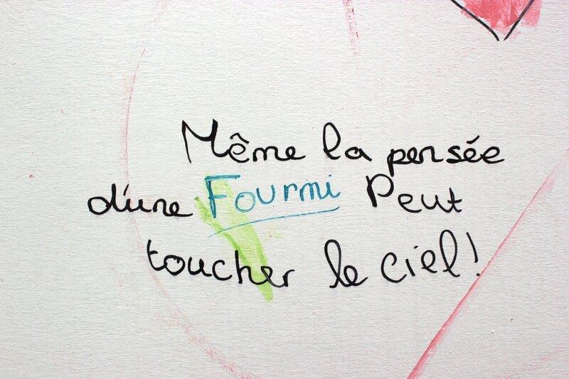 Coulommiers bibliothèque mur d'expression poétique clicfoto Francis Dechy juin 2014 08