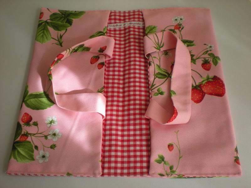 Un sac porte tarte bolsa porta tartas le flux de la - Porte tarte en tissu ...