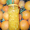 La confiture d'oranges