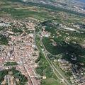 2008 07 07 Vu aérienne depuis l'ULM d'Etoile sur Rhône en direction de Crussol (28)