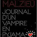 Journal d'un vampire en pyjama, mathias malzieu