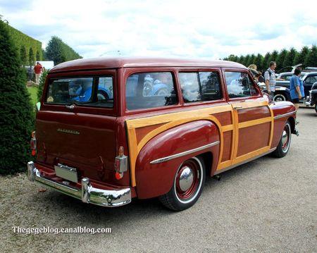 Plymouth woody suburban de 1950 (9ème Classic Gala de Schwetzingen 2011) 02