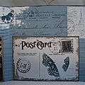 Mini album collection letter sweet par scrap and sand