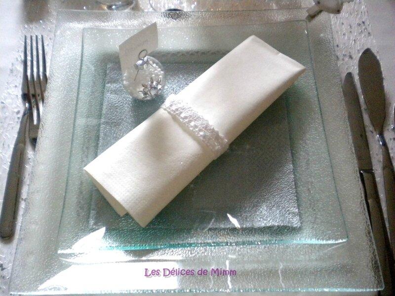 Ma table Noël Blanc 11