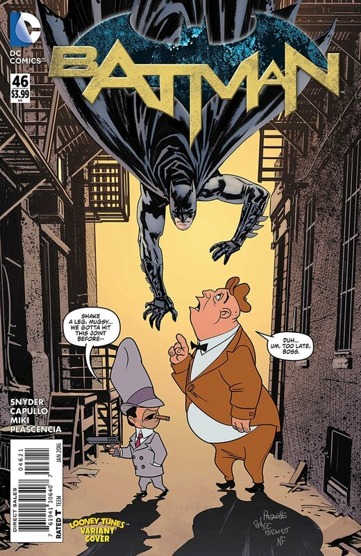 batman 46 looney tunes variant
