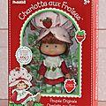 Réédition poupées charlotte aux fraises des années 80