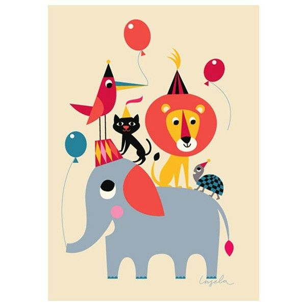 affiche-ingela-p-arrhenius-animal-party