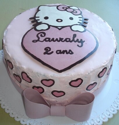 Gâteau Hello Kitty 4