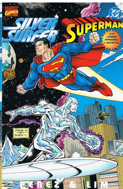 marvel crossover 03 silver surfer superman