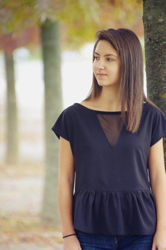 TROP-TOP-Femme_Manches courtes_Version B-dos boutonné_volant_triangle devant2