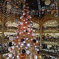 Noël au galeries lafayette