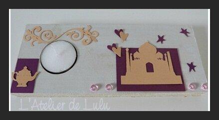 Centre de table mille et une nuits l 39 atelier de lulu - Decoration mariage mille et une nuit ...