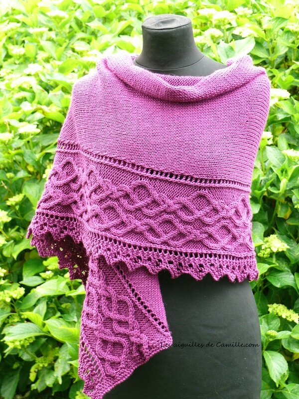 Lovely day Shawl 1