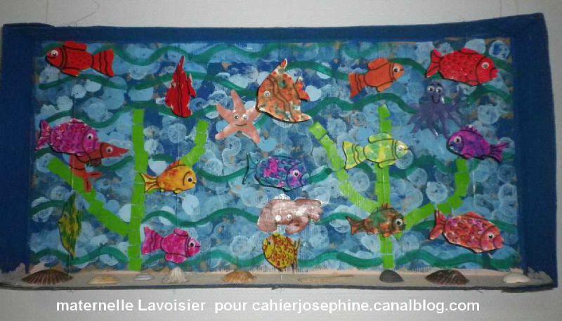 Bouillabaisse les cahiers de jos phine for Aquarium cadre