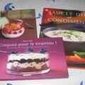voici 3 livres super offert par les filles du point compté