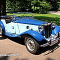 Mg td roadster (1950-1953)(37ème internationales oldtimer meeting de baden-baden)