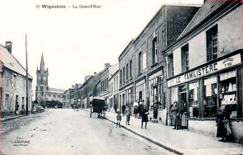 WIGNEHIES-La Grand'rue (2)