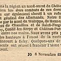 06 novembre 1918