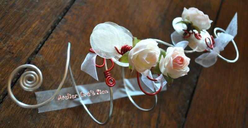 Bracelet Bouquet De Mariee Alu Atelier Cr 39 Sion L 39 Univers Du Fait Main