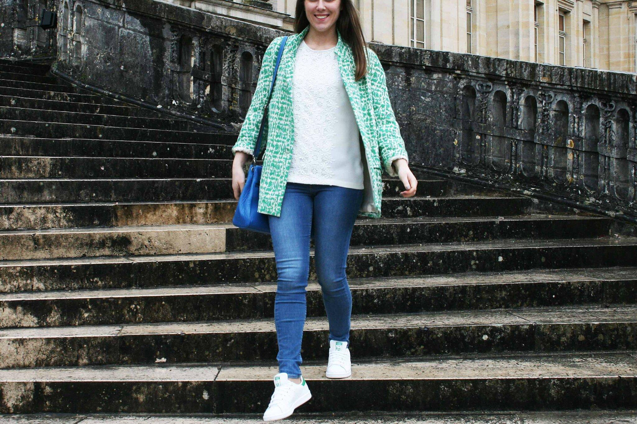 Aime comme Miroir en sortie à Fontainebleau par temps de pluie...