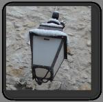 lanterne neige
