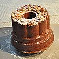 Gâteau au chocolat et aux fruits secs : pistaches amandes noisettes