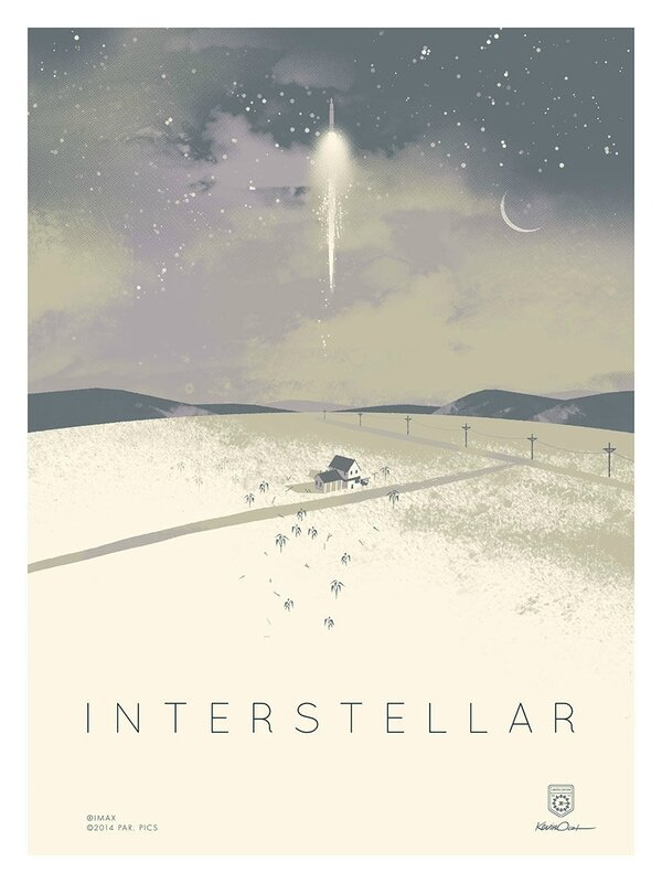 Interstellar (affiche Imax)
