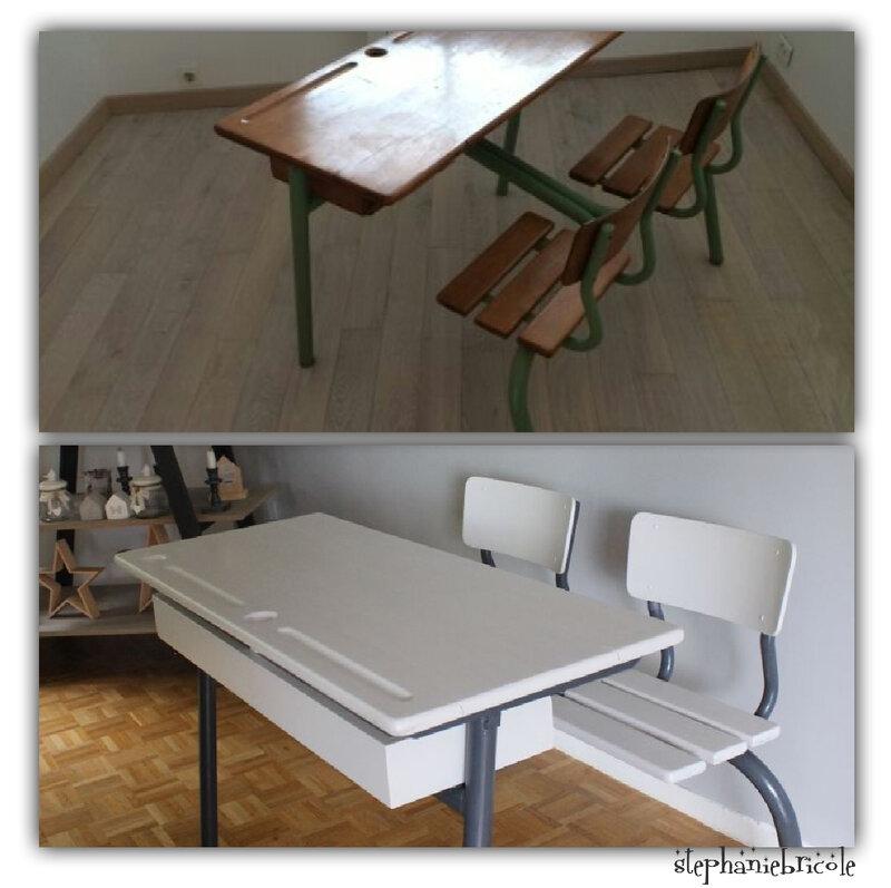 diy rentr e relooker un bureau d 39 colier st phanie bricole. Black Bedroom Furniture Sets. Home Design Ideas