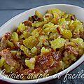 Roïgabrageldi (pommes de terre rôties au lard)