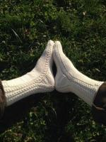Chaussettes torsadées