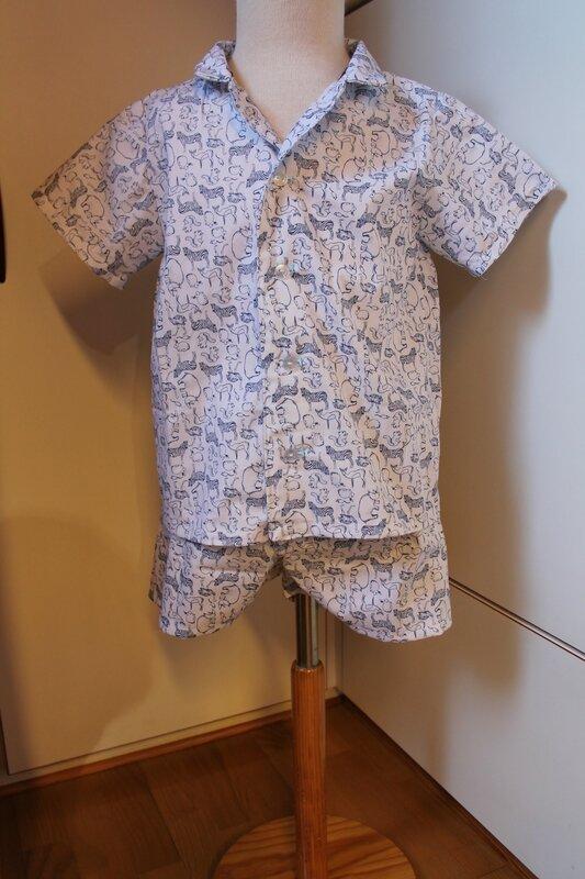 Pyjama court Marie N