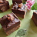 Brownie fudge de