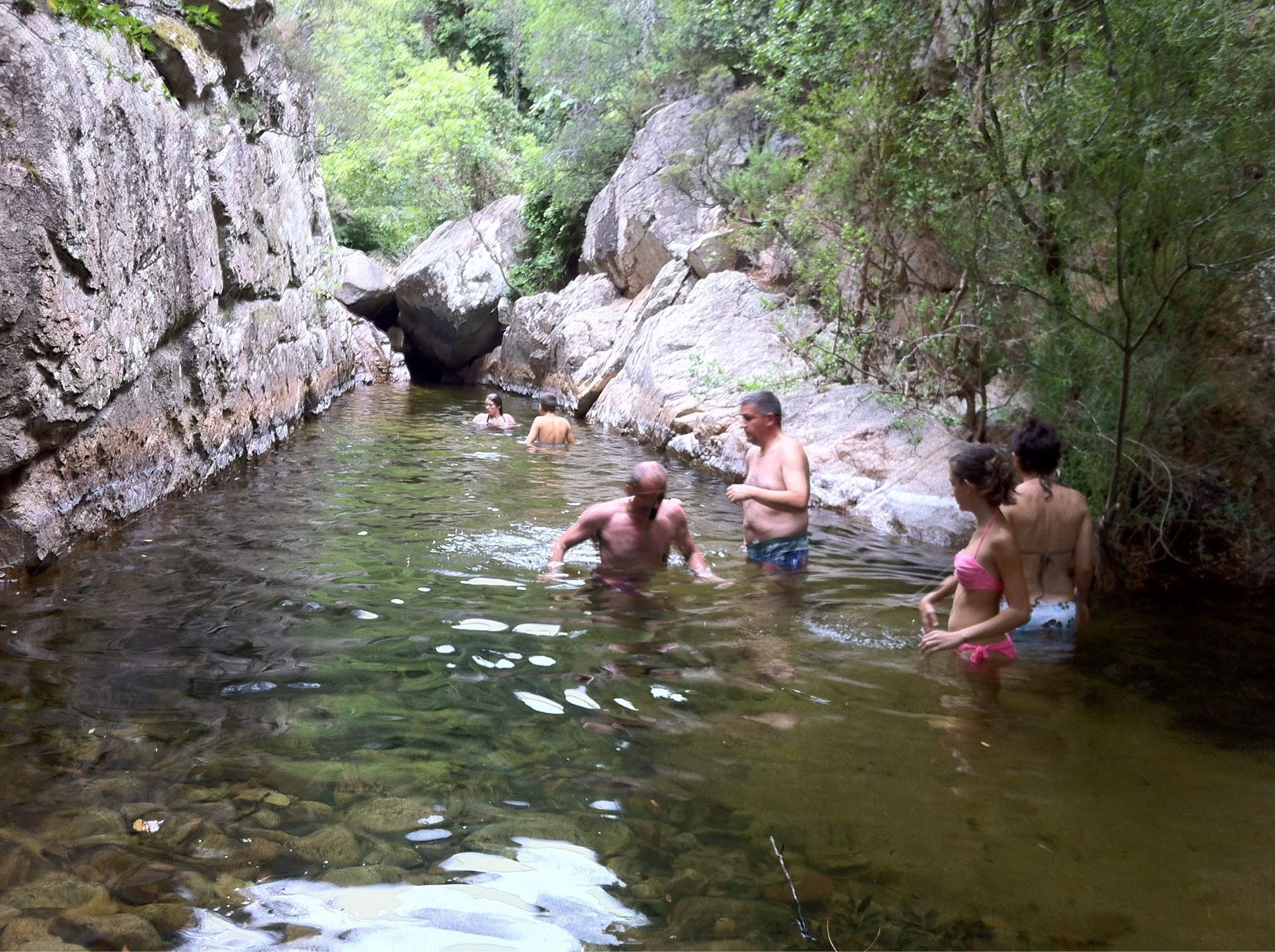 Piscine naturelle figari for Piscine naturelle corse