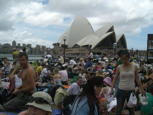 Sydney, Australiens avant le feu d'artifice