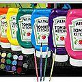 Peintures non toxiques pour les enfants