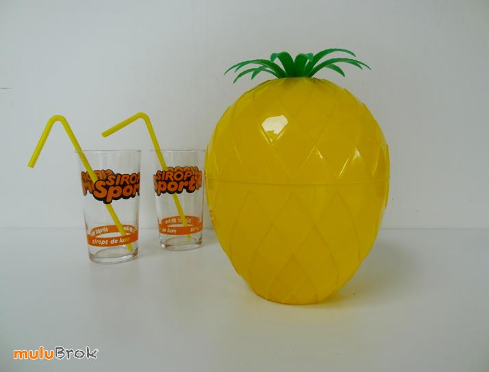 Objet vintage seau glace ananas mulubrok brocante en ligne - Objets vintage en ligne ...