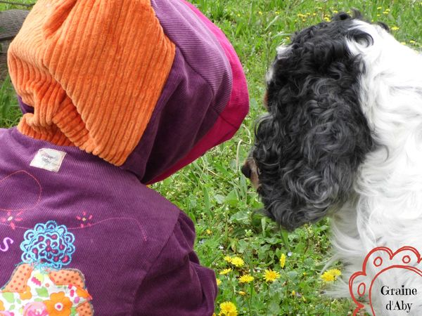 manteau de printemps discussion florale