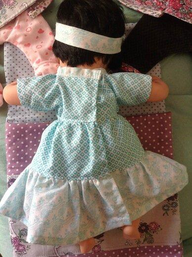robe bleue Mei