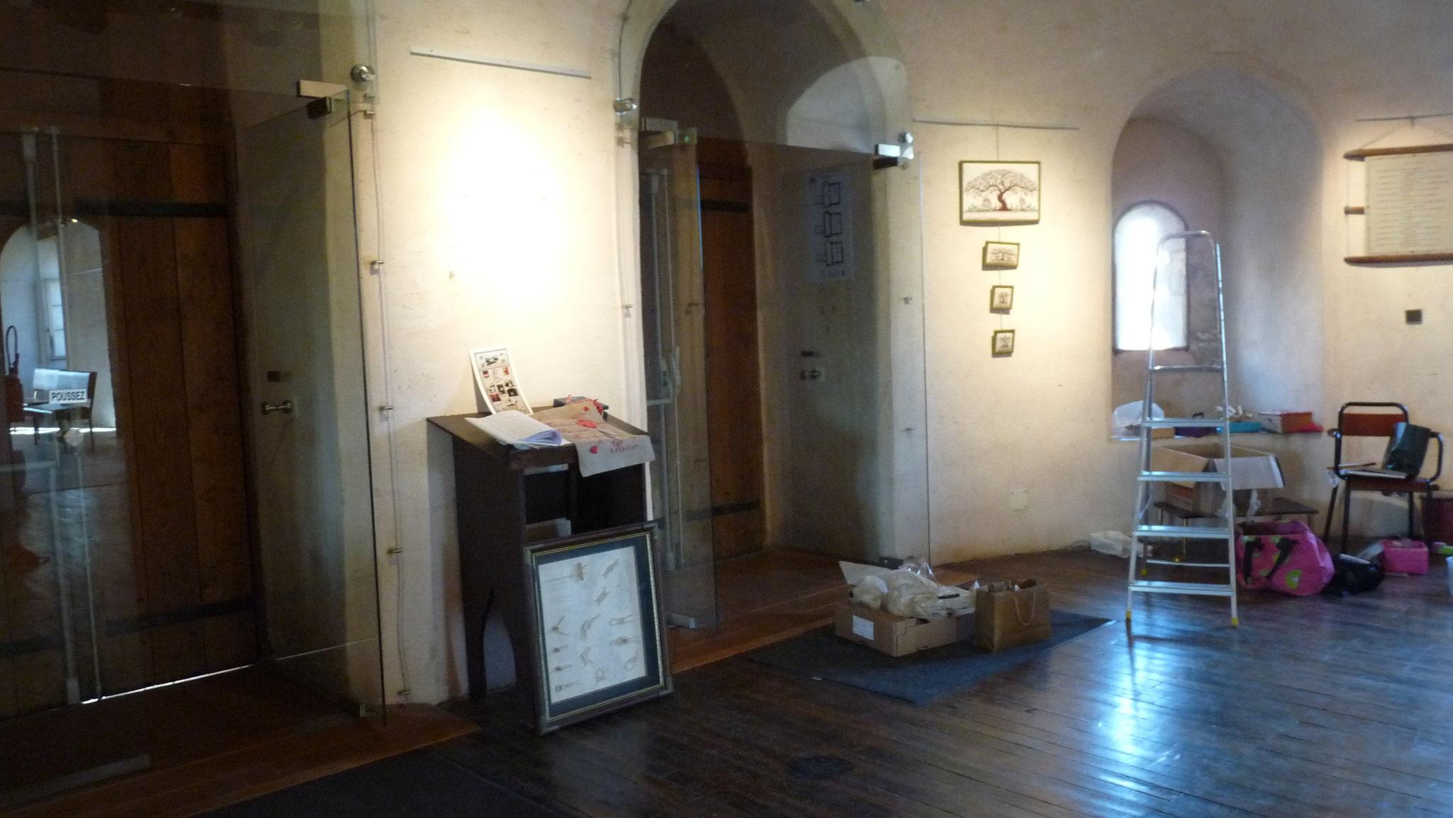 Installation des ouvrages