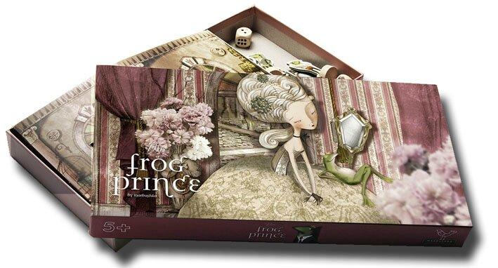 Boutique jeux de société - Pontivy - morbihan - ludis factory - Frog Prince