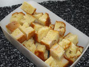 cake chevre surimi