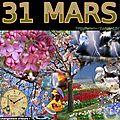 mois de MARS 31