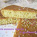 Gâteau marocain aux amandes et à la fleur d'oranger