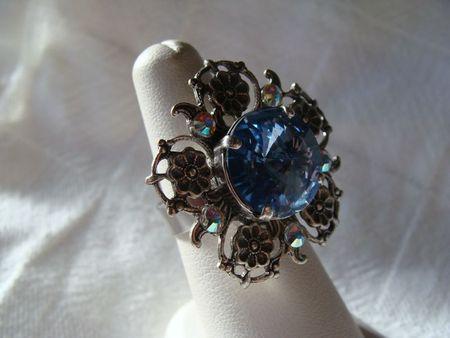 Bagues vintage cristal 007