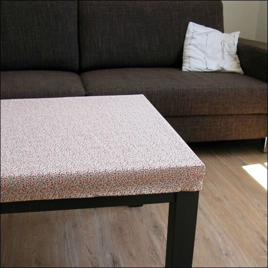 Nappe pour table basse rectangulaire - Nappe table basse ...