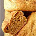 Recette - mini-pains d'épices façon gâteau au yaourt (3,25pp l'unité)