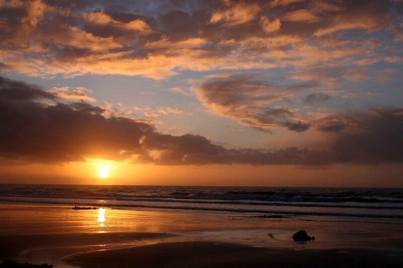 7-Normandie - Etretat, plage, coucher de soleil_0643