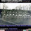 1969 équipe de foot régimentaire