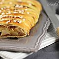 Feuillet tress aux pommes, poires & speculoos